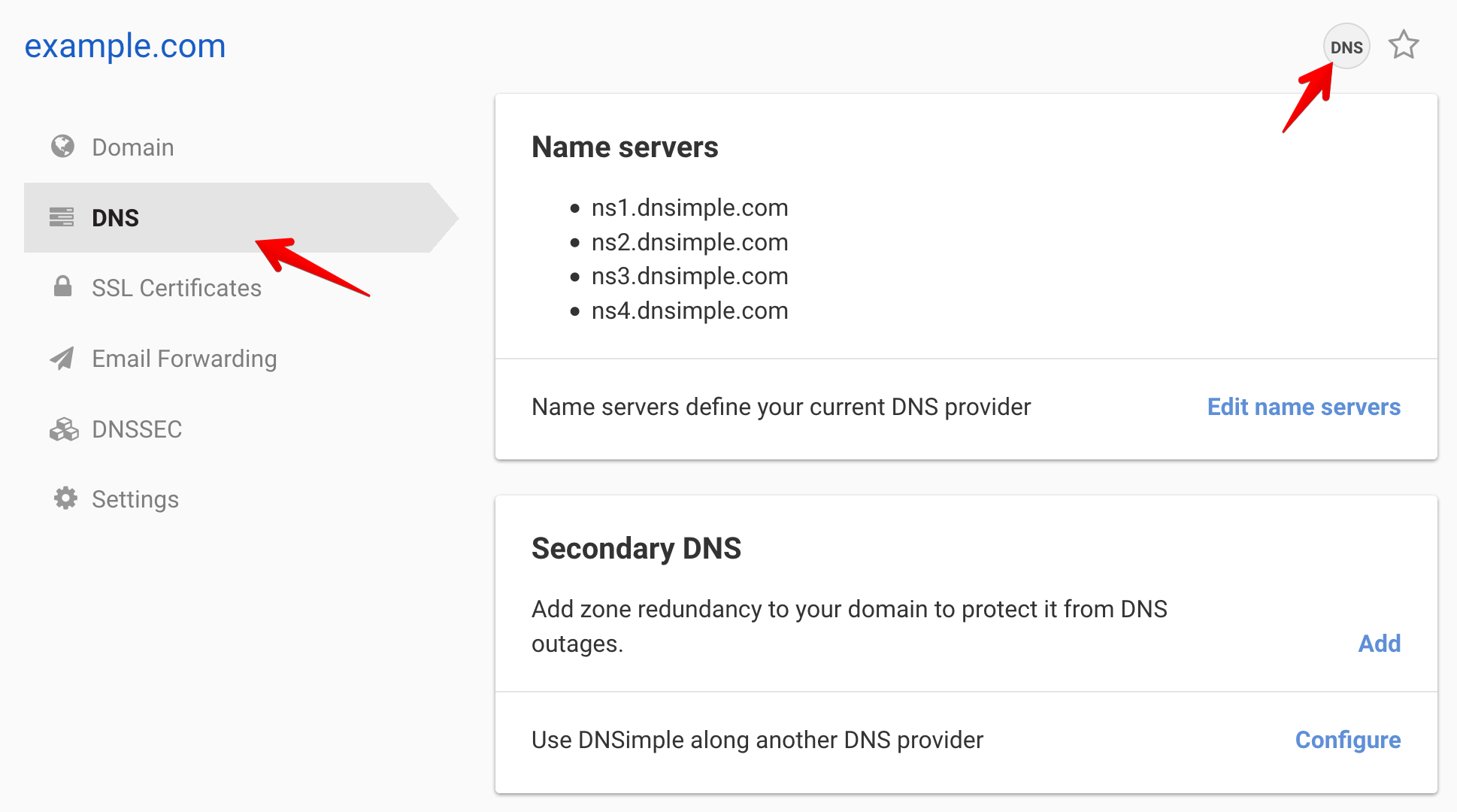 Adding a Subdomain - DNSimple Help